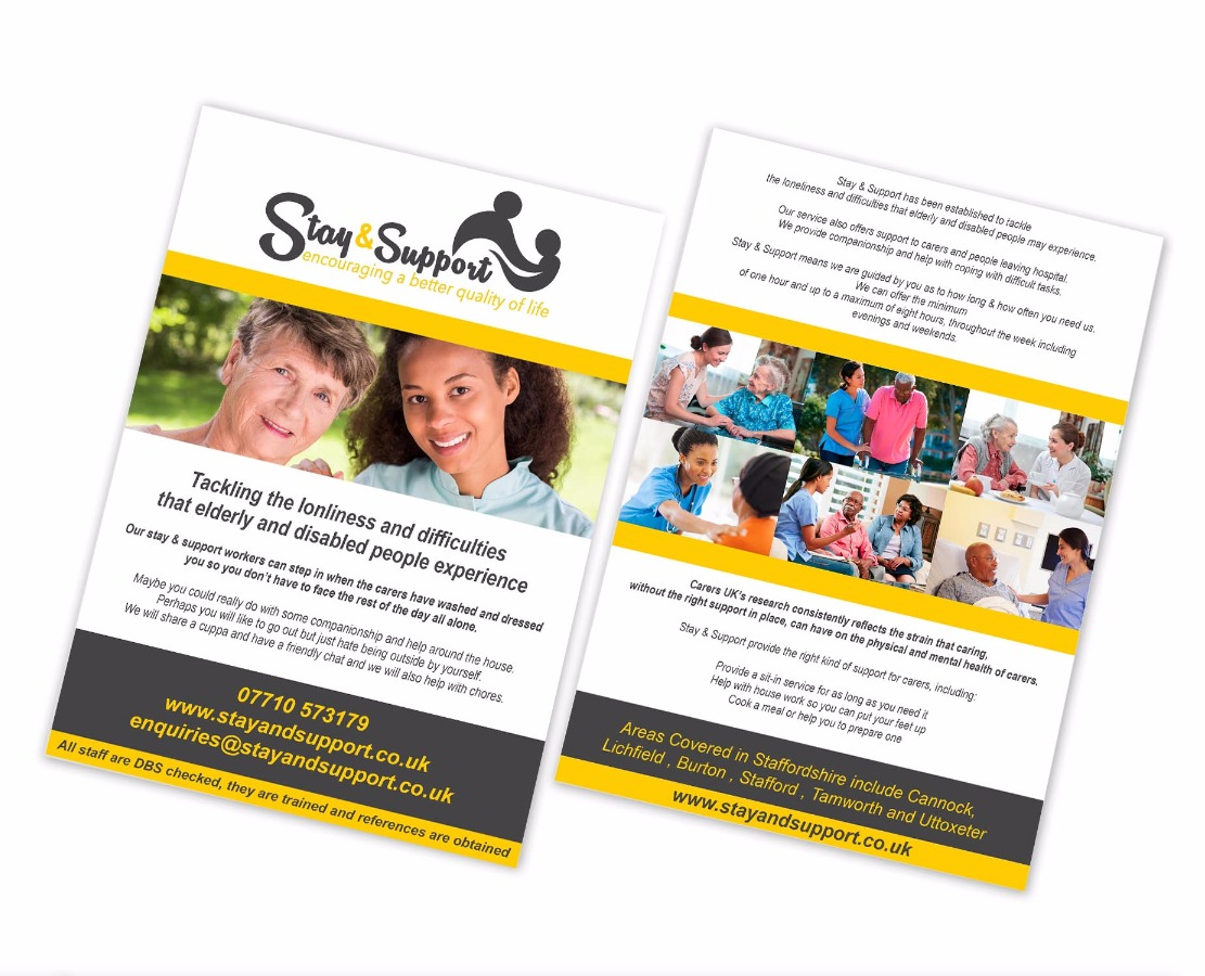 Stay & Support Leaflet