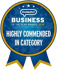 Busines of the Year- Highly Commended