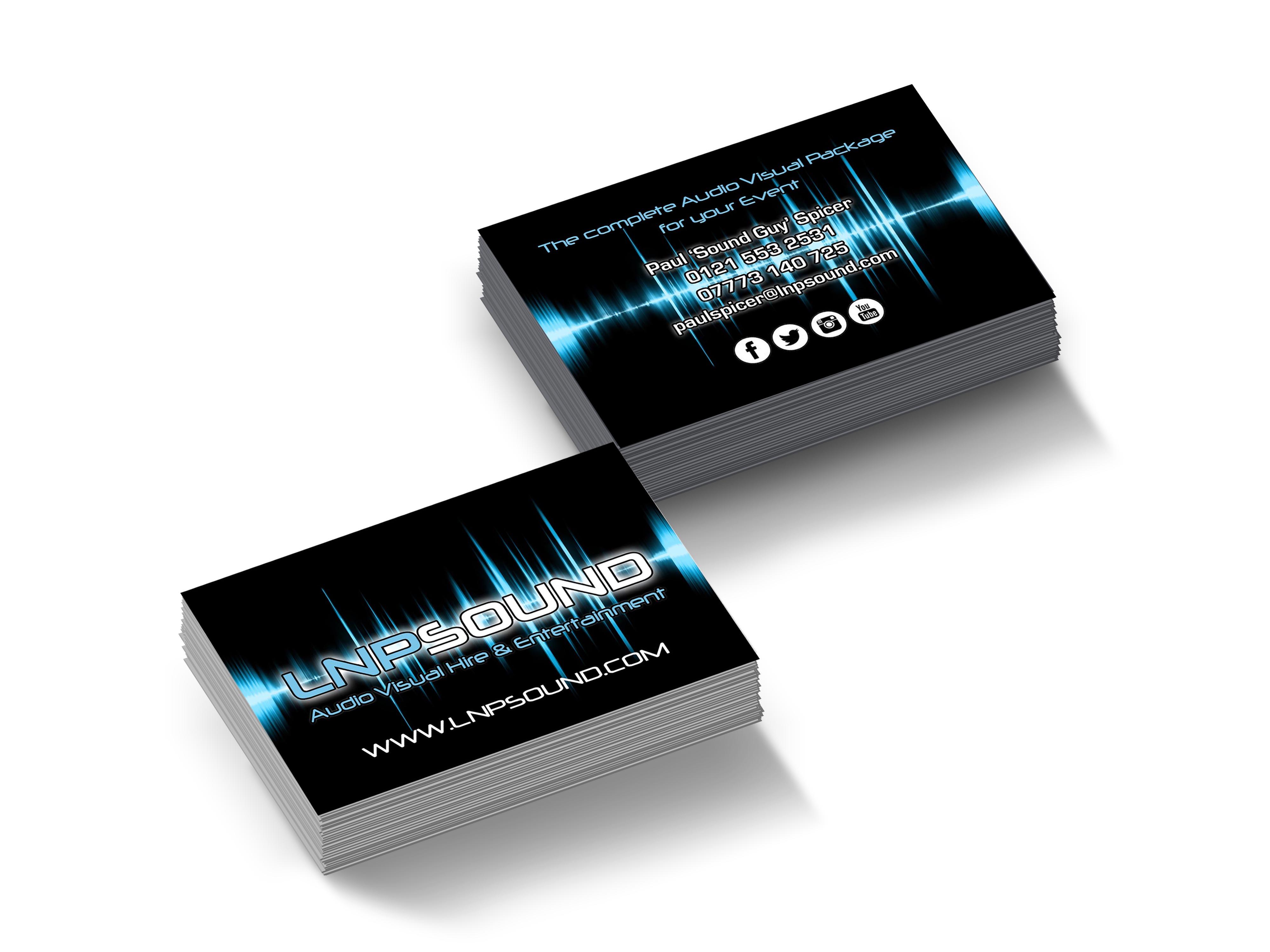LNP Sound Business Cards