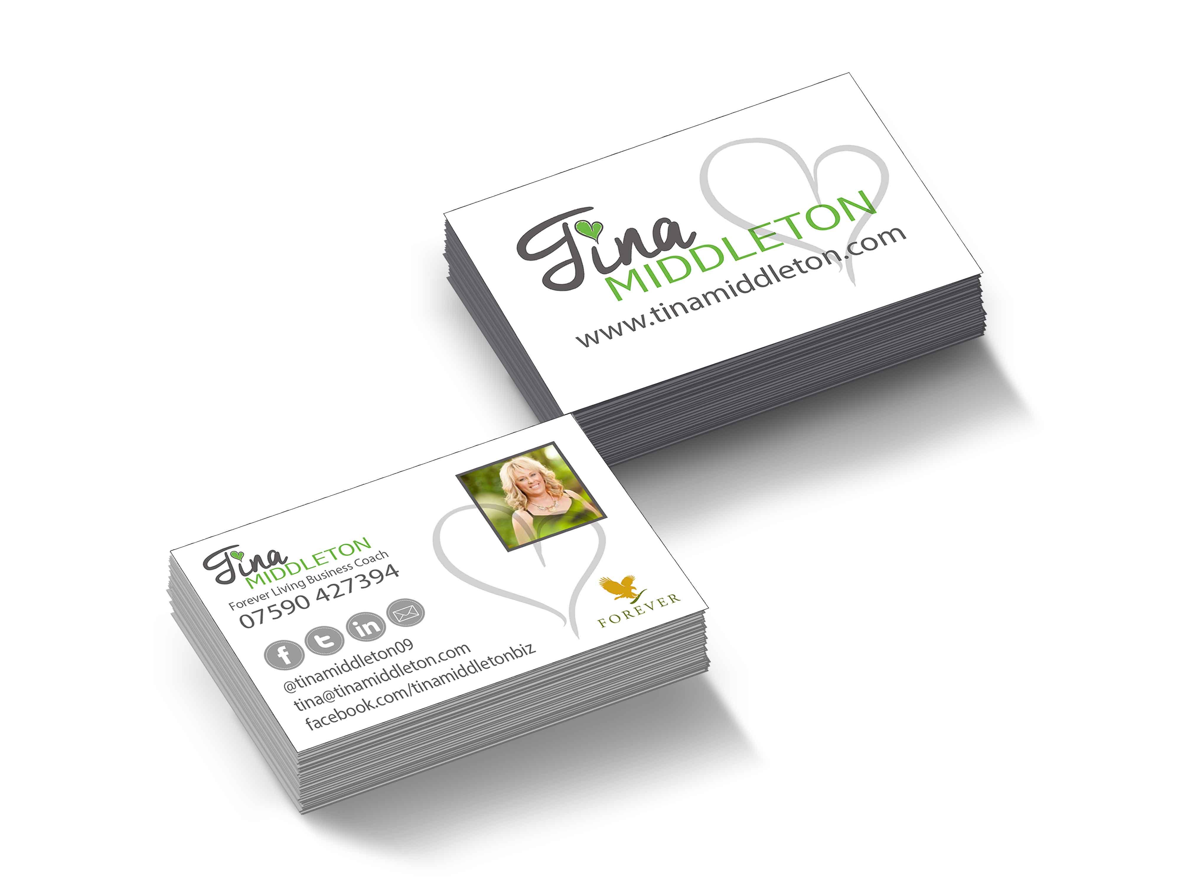Tina Middleton Business Cards