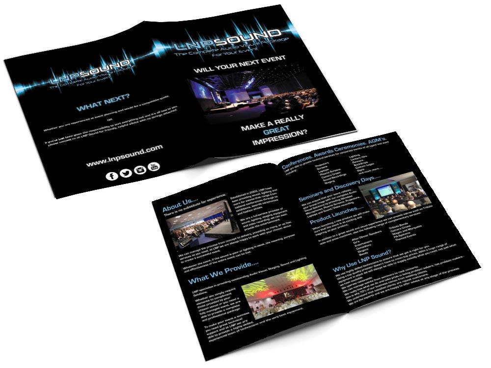 LNP Sound A4 Brochure