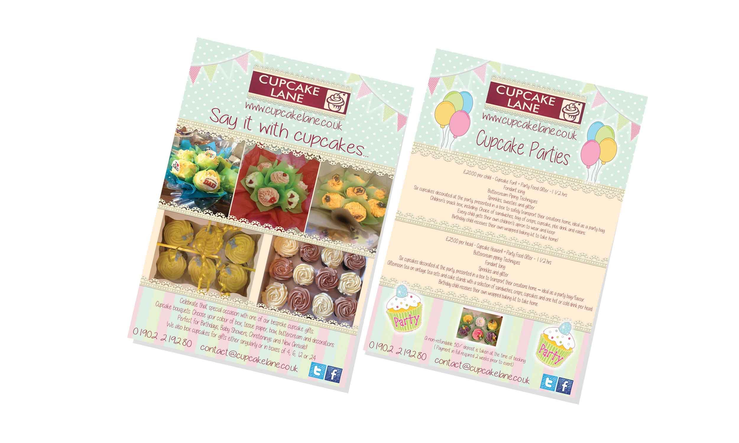 Cupcake Lane Leaflets