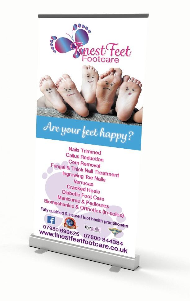 Finest Feet Banner