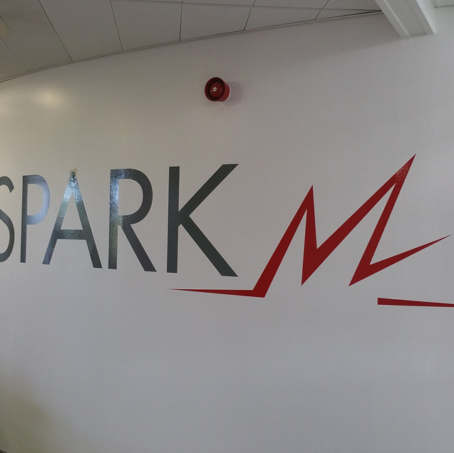 SPARK Wall Signage