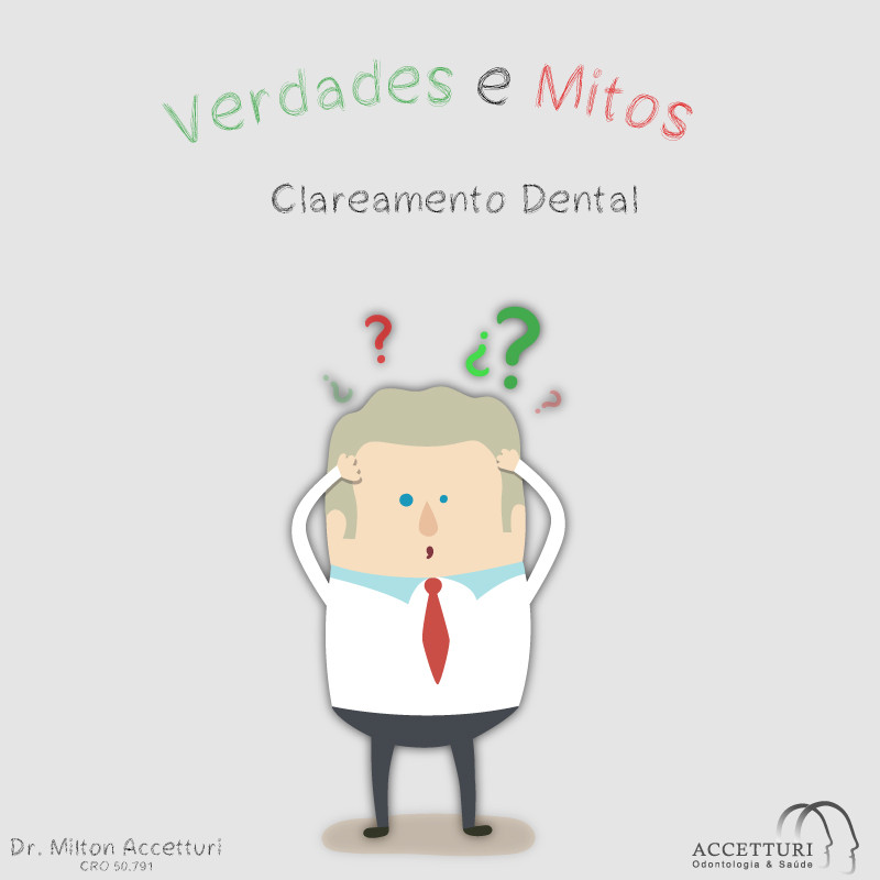 Verdades e Mitos sobre clareamento dental