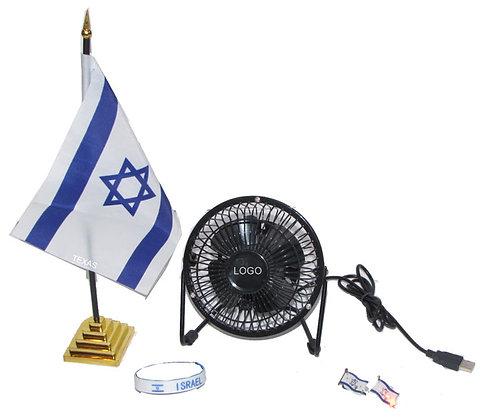 """סט מתנה לעצמאות """"משרד ישראלי"""""""