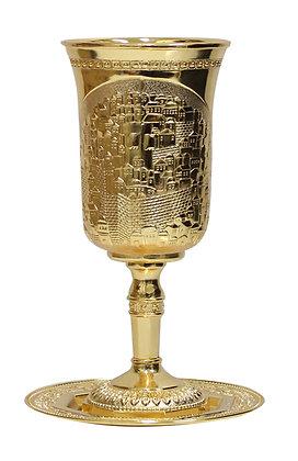 גביע אליהו גדול זהב/כסף ירושלים