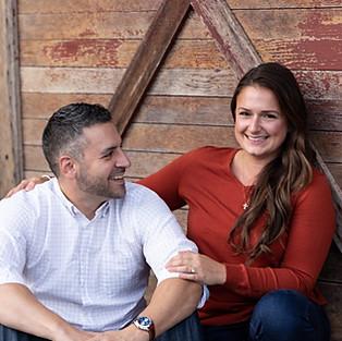 Kristie & Jeremy engagement sneak peeks