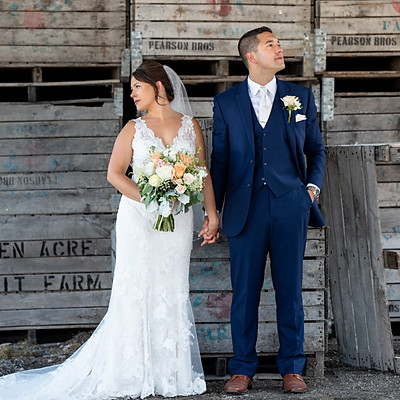 Katy & Steve wedding sneak peeks