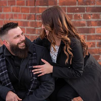 Rachel & Derek engagement sneak peeks