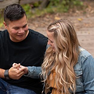 Kaela & Chris engagement sneak peeks
