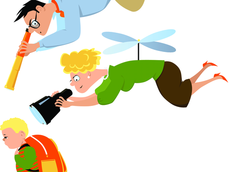 How to not be a helicopter parent