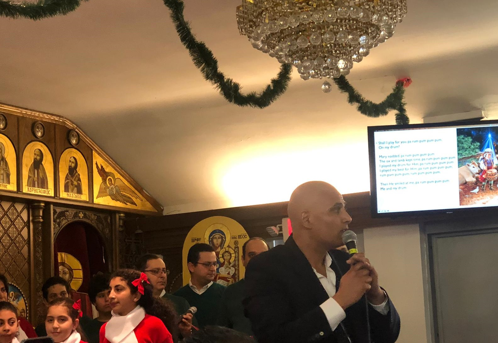 Christmas Choir Conductor Maged 2019