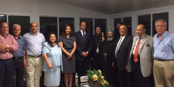 Dinner with Egyptian Consul 2