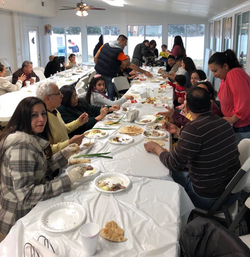 Easter Monday Salted Fish Luncheon, April 2018