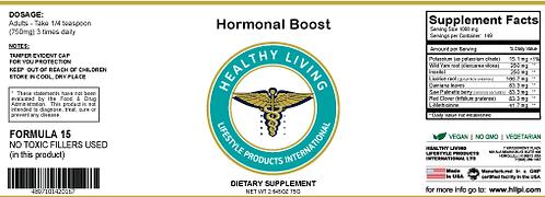 F15 Hormonal Boost 150g/5.6oz