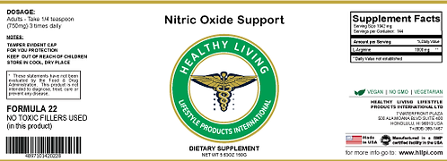 F22 Nitric Oxide Support 150g/5.6oz