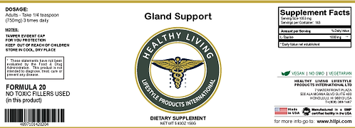 F20 Gland Support 150g/5.6oz