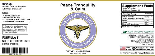 F8 Peace, Tranquility & Calm 150g/5.6oz