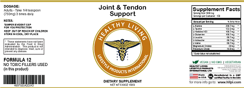 F12 Joint & Tendon Support 150g/5.6oz