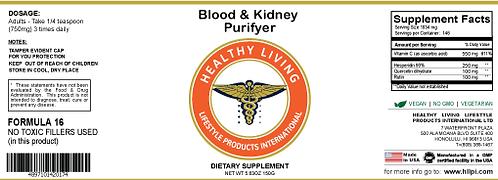 F16 Blood & Kidney Purifier 150g/5.6oz