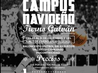 CAMPUS NAVIDEÑO TIERNO GALVAN