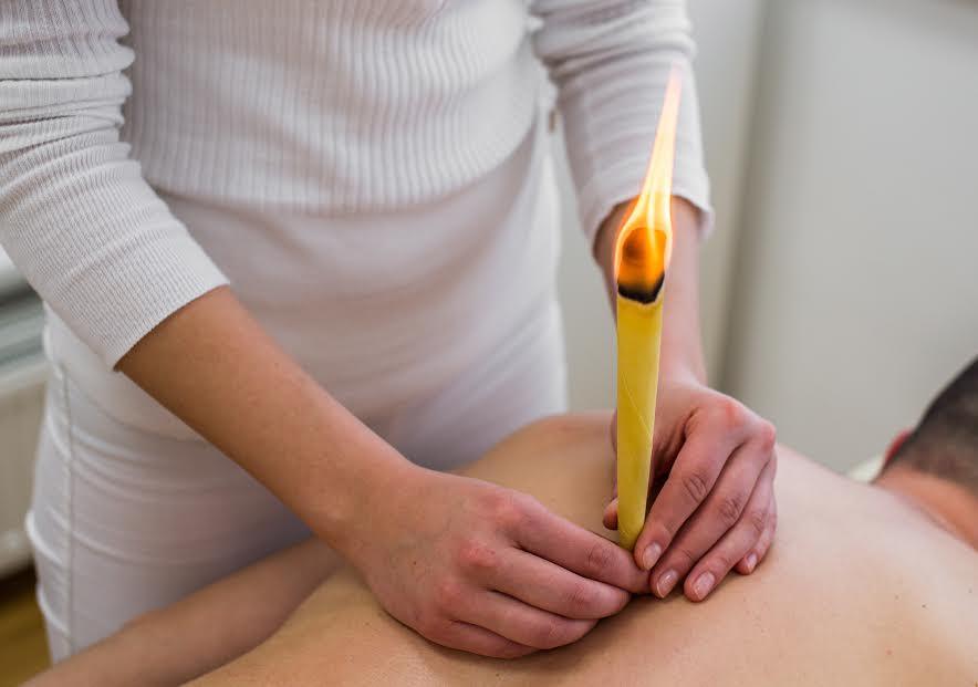 telové sviečky
