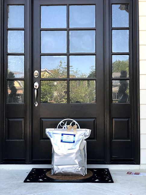 home delivery, contact-free dinner, family dinner, free delivery, chapel hill, durham, raleigh