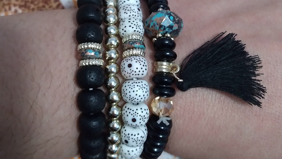Meditation bracelet set