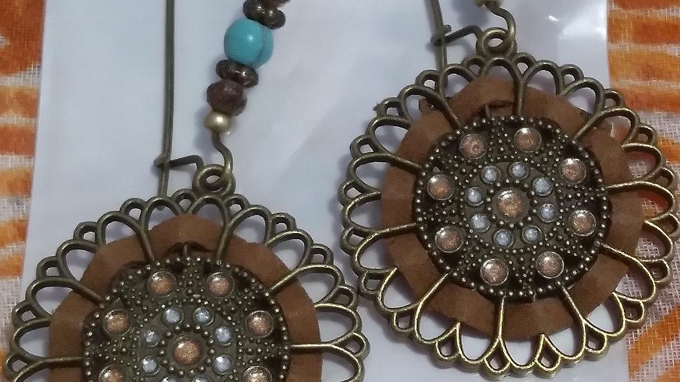 Wheel Of Fortune Earrings