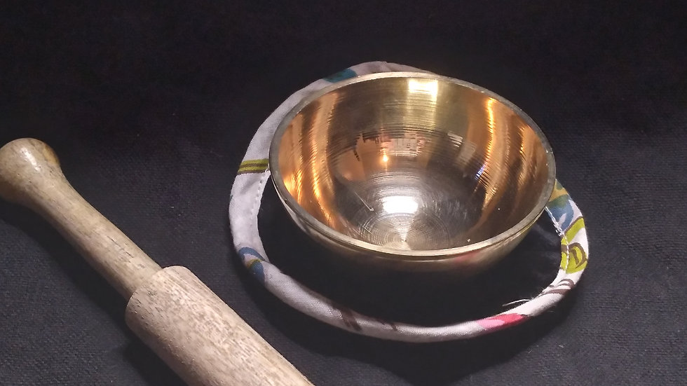 Small Brass Singing Bowl