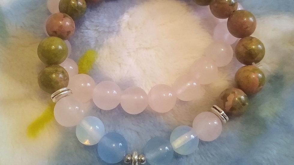 Lotus Bracelet Set