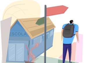A evasão escolar causada pela pandemia