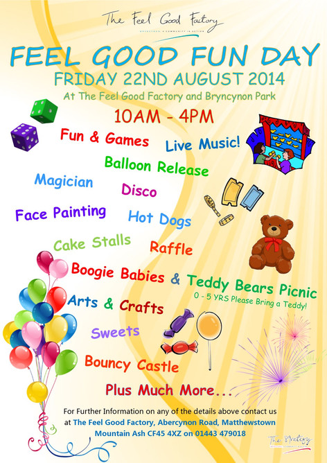 Summer Funday 22nd August 2014 - 10am - 4pm