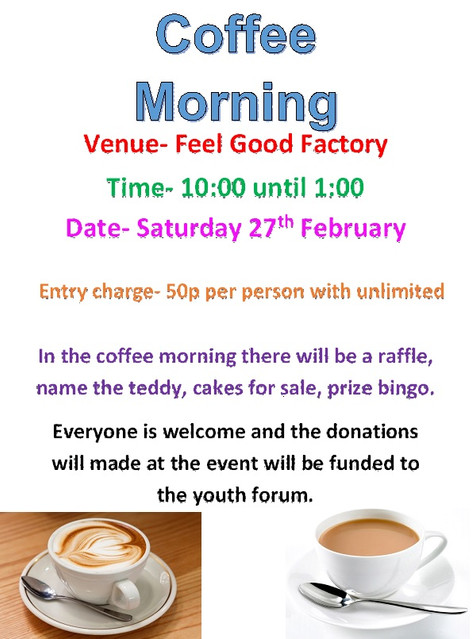 Coffee Morning - 27th February 2016