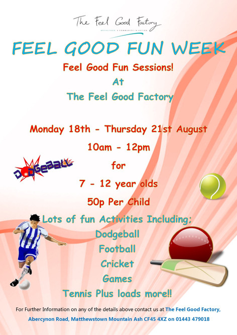Feel Good Fun Week!