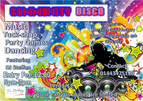 Community Disco - 17/03/2017