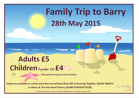FAMILY TRIP TO BARRY!
