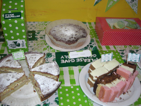 Macmillan Coffee Morning at The Feel Good Factory