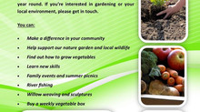 Keen Gardener, got spare time? Why not volunteer?