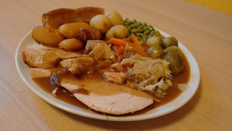 Christmas Dinner at Healthy Nibbles Cafe
