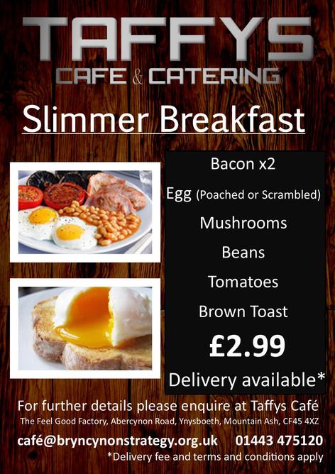 Slimmer Friendly Breakfast