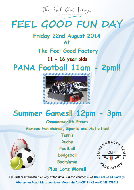 Pana Football and Summer Games!