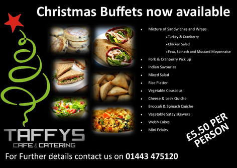 Christmas Catering options now available