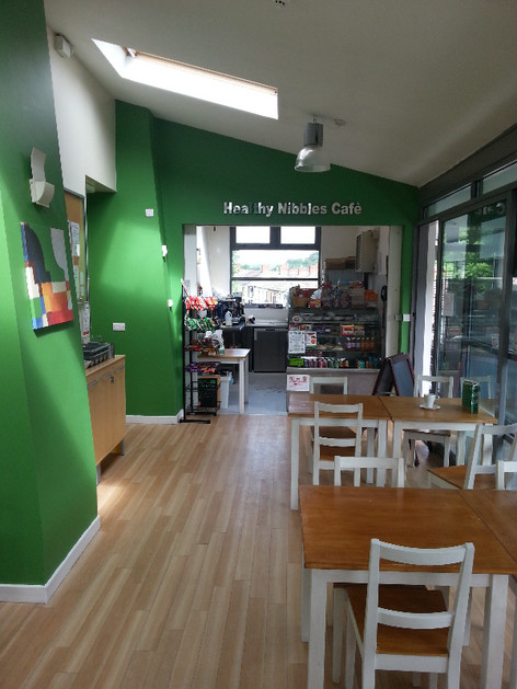 Healthy Nibbles Cafe has a new look.