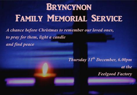 Family Memorial Service - 11/12/2014