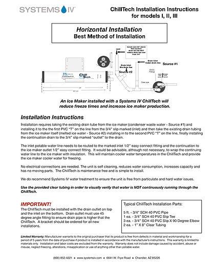 CTI-II-III Installation Instructions - 1
