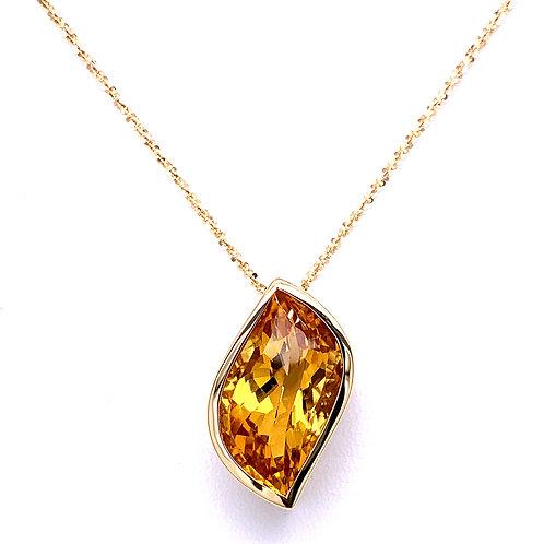 Golden Beryl Necklace