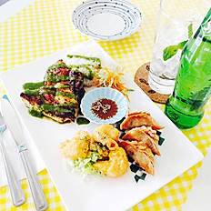 Grilled Thai Chicken Plate (Combo A)