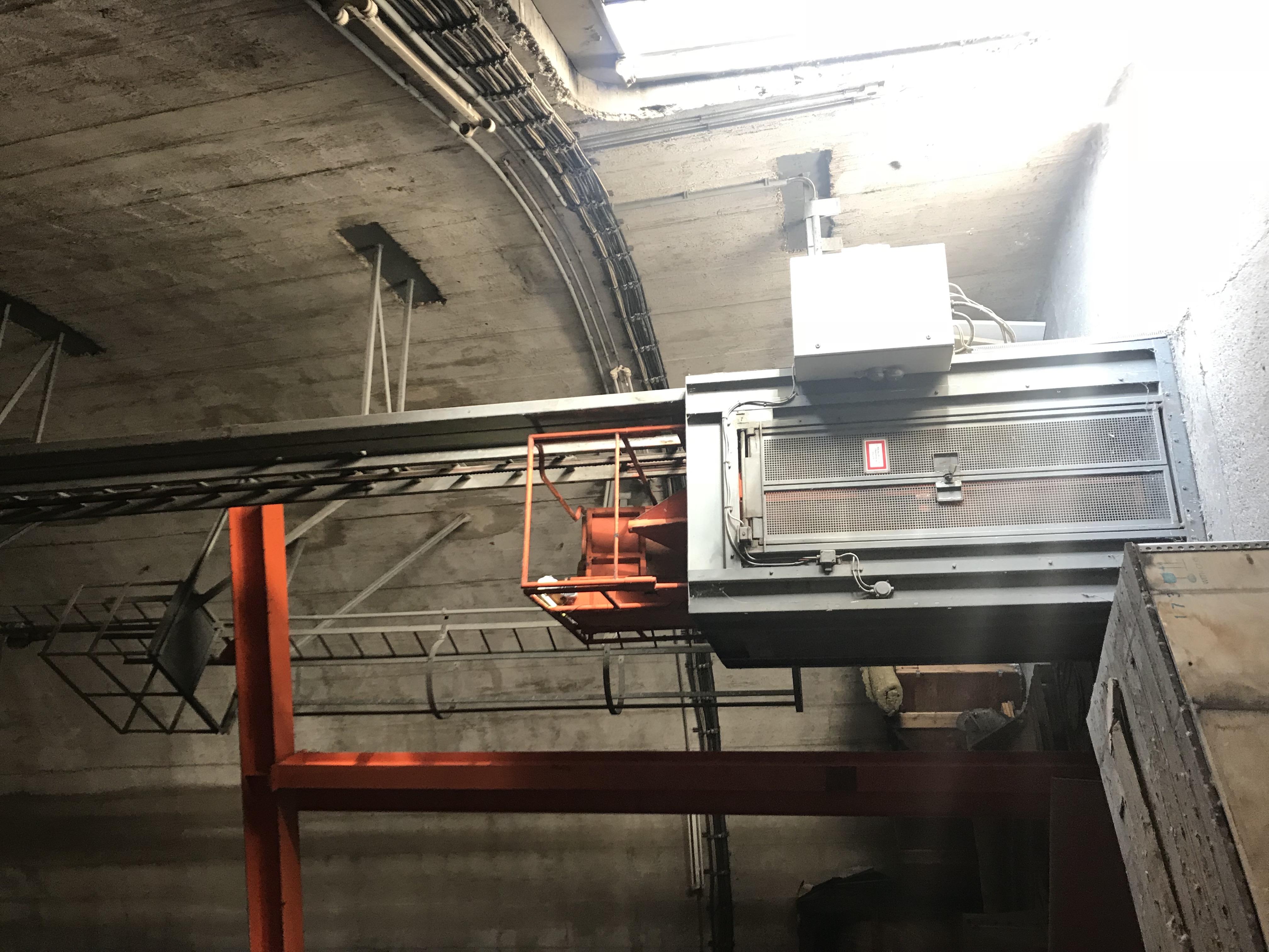 Prüfung Linden Alimak Aufzug